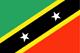 Saint Kitts en Nevis Flag